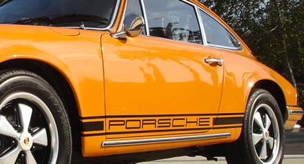 Porsche 911 Side Decals Pair